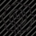 cog, cogwheel, engineering, engineering icon, screwdriver icon