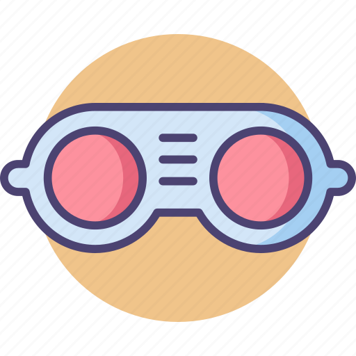 eyewear, glasses, goggles, industrial, protection, protective, safety icon