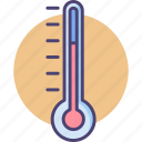 celsius, climate, fahrenheit, forecast, temperature, thermometer, weather icon