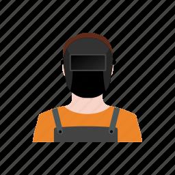 avatar, builder, engineer, profession, race, welder, working icon