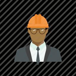 avatar, builder, costume, engineer, profession, race, working icon
