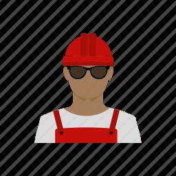 avatar, builder, engineer, profession, race, working icon