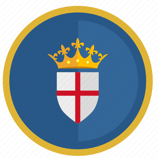 crown, england, flag, kingdom, round icon