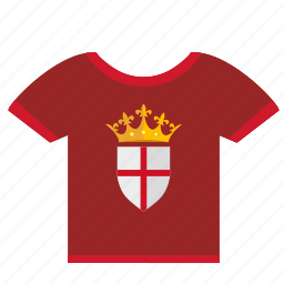 crown, england, queen, tshirt, wear icon
