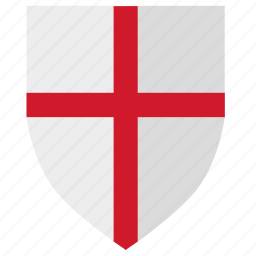 england, flag, kingdom, nation, shield icon