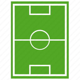 field, football, game, grass, sport, view icon
