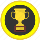 award, champion, cup, football, medal, round icon