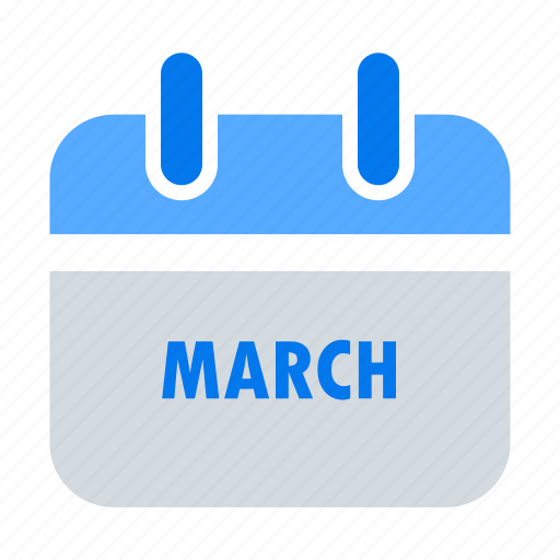 appointment, calendar, event, mar, march, month, schedule icon