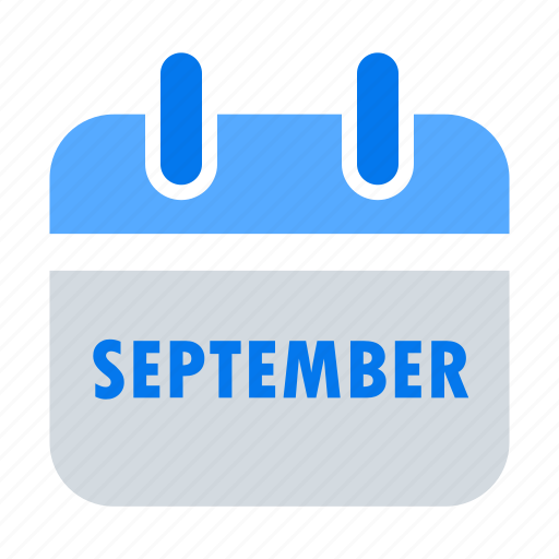 appointment, calendar, event, month, schedule, sep, september icon