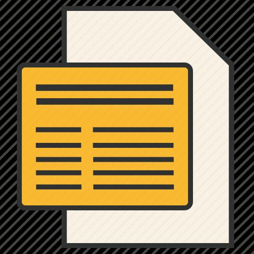data, enterprise architecture, file, info, metadata, status, togaf icon