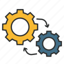 enterprise architecture, methodology, technique, method, togaf, technology icon