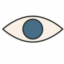 eye, look, see, sight, togaf, view, viewpoint icon