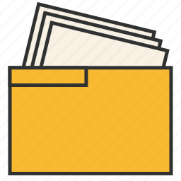document, documents, files, folder, office, togaf, work package icon