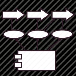 application, information architecture, it architecture, process, service icon