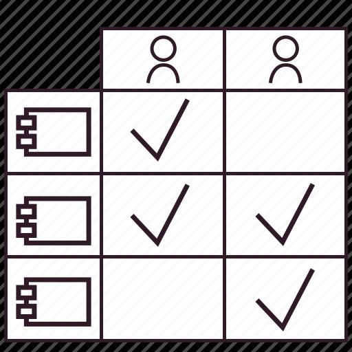 application, artifact, enterprise architecture, matrix, report, role icon