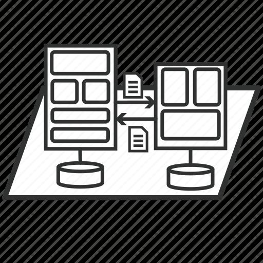 Architecture Data Document Enterprise File Togaf Icon