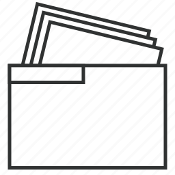 documents, file, folder, office, paper, togaf, work package icon
