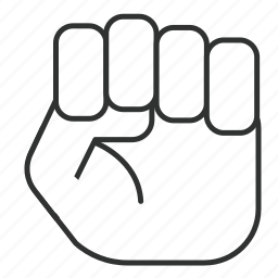 fist, law, officer, principle, rule, togaf, tool icon