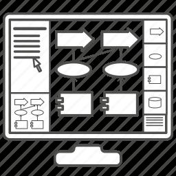 application, archi, design, enterprise architecture, enterprise architecture modelling, interface, modeling tool icon