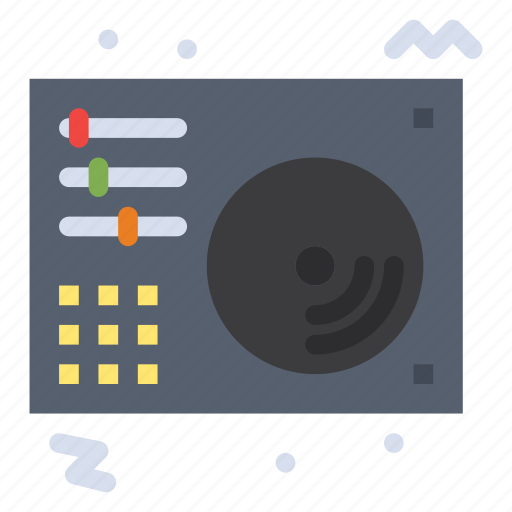 audio, disc, music, player, song icon
