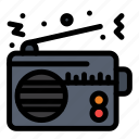communication, connection, device, radio, technology icon