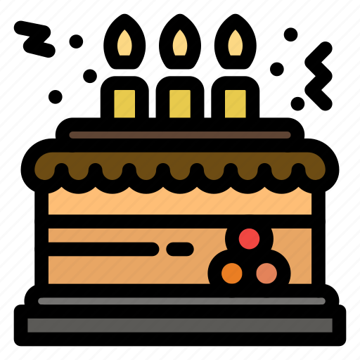 birthday, cake, celebration, decoration, gift icon