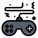console, controller, game, pad, play icon
