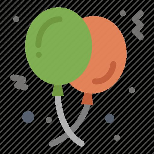 balloon, balloons, birthday, celebration, party icon