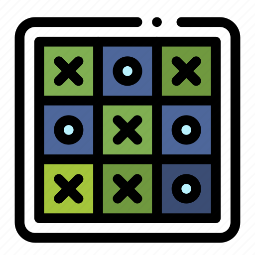game, tac, tic, toe icon