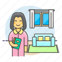 1, books, entertainment, female, home, living, ralex, reading, relaxing, room, time icon