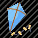 entertainment, kite flying, kite, kiting, fly kiting, wind kite icon