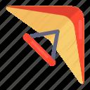 adventure sports, parachute, paragliding, parasailing, skydiving icon