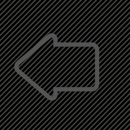 arrow, back, entoni icon