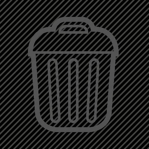 bin, delete, entoni, trash icon