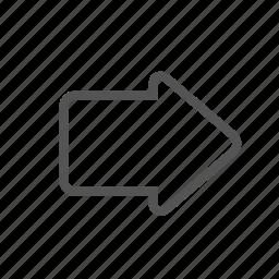 arrow, entoni, forward icon