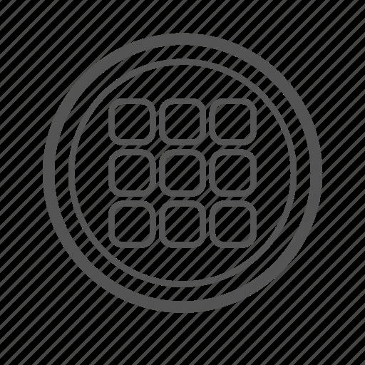entoni, grid, menu, menugrid icon