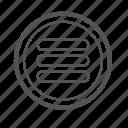 entoni, list, menu, menulist icon