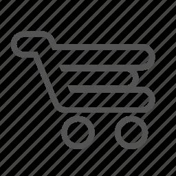 basket, cart, entoni, shopping, shoppingcart, trolley icon
