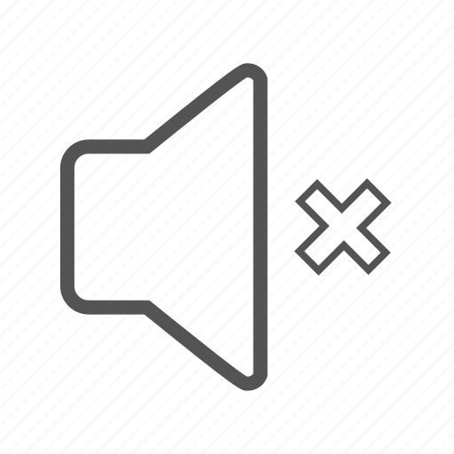 entoni, mute, off, volume icon