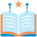 book, education, entrepreneur, knowledge, learning, metaphor, skills icon
