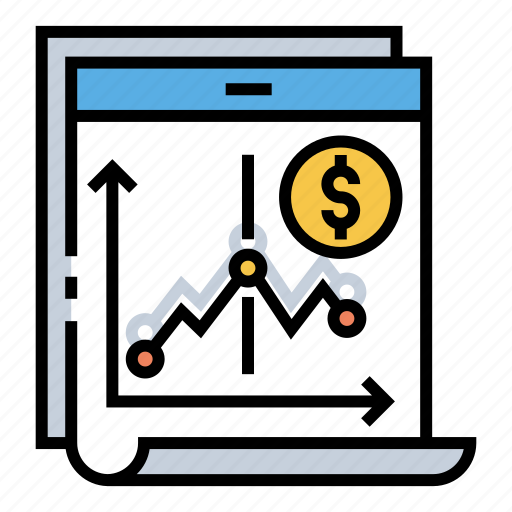 Financial, graph, investment, market, profit, stock, trading icon - Download on Iconfinder