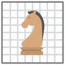 board game, chess horse, chess knight, chess piece, knight horse chess icon