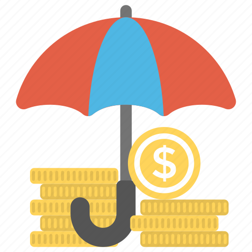 business insurance, financial insurance, payment protection insurance, professional indemnity insurance, umbrella policy icon