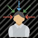 attention symbol, business concept, financial success, marketing, success symbol icon