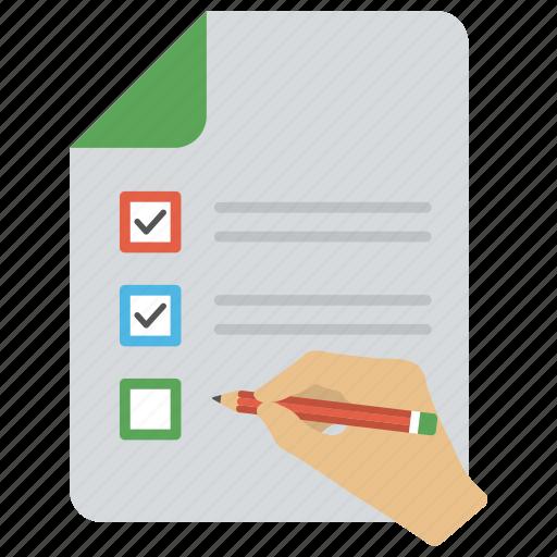 agenda, audit checklist, catalog, checklist, schedule icon