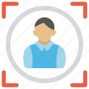 business goal, business target, financial goal, sales target, target market icon