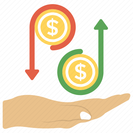 accounting, business concept, financial management, financial service, marketing symbol icon