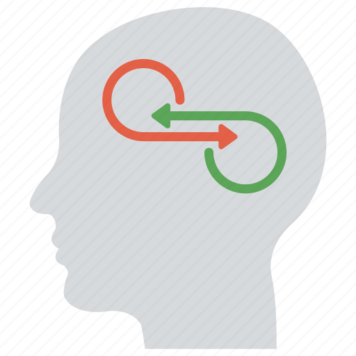mindset, pensive, thinking concept, thinking process, thoughts icon