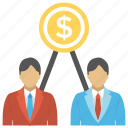 employee benefits, employee wages, employees salaries, payroll, remuneration icon