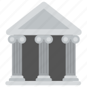 bank, bank building, bank interior, finance, money icon